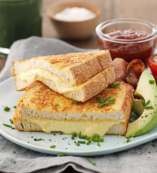 Savoury Epicure Cheese fried toast