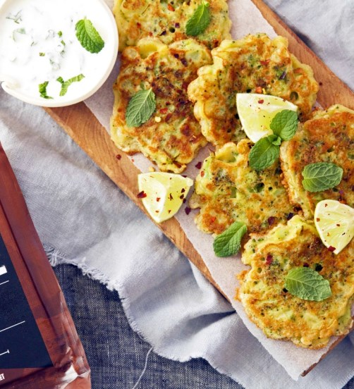 Broccoli and Noble Cheddar Fritters