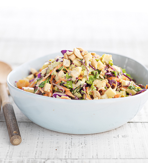 Noble Slaw with Sweet Spiced Dressing