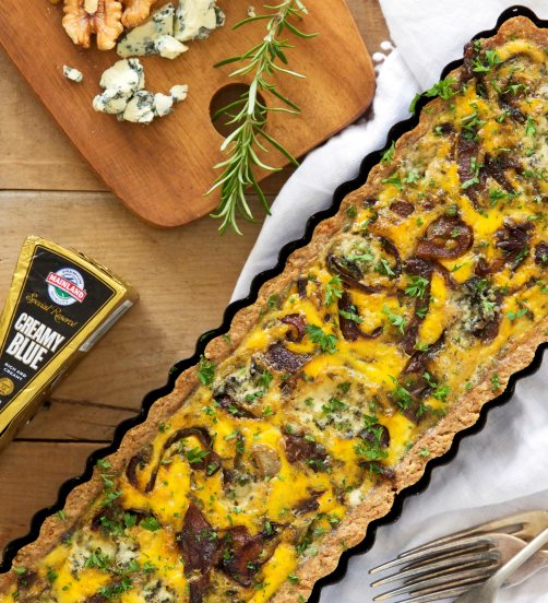 Creamy Blue Cheese Tart