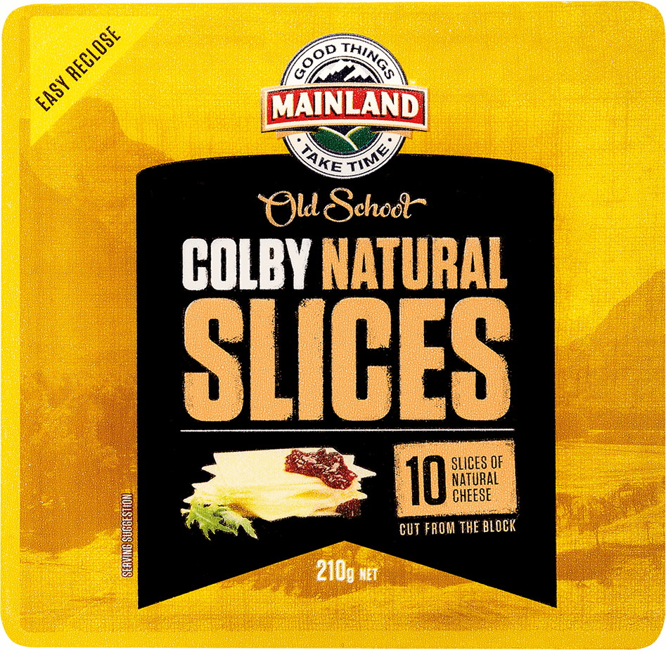 Mainland Colby Cheese Slices